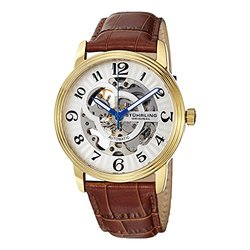 Stuhrling Original Mens' Watch Set: GP10948-Skeletonized