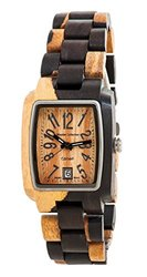 Tense Wood Men's Watch Rectagular Hypoallergenic J8102DM LF