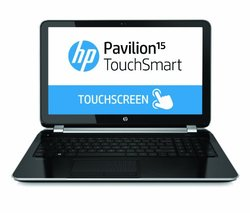 "HP Pavilion TouchSmart 15.6"" Touchscreen Laptop i3 4GB 750GB (15-n040us)"