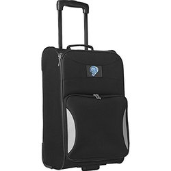 Denco Legacy Rams Steadfast Upright Carry On Luggage - Black - Size: 21""