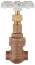 Milwaukee UP149 Series Bronze Rising Stem Gate Valve