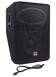 "Rockville 12"" 1000-W 2-Way Powered Active Stage Floor Monitor Speaker"