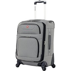 """SwissGear 20"""" Carry-On Spinner - Pewter"""