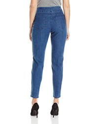 Ruby Rd. Women's Pull-On Extra Stretch Denim Jean - Indigo - Size: 8
