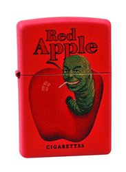 Diamond Select Toys Pulp Fiction: Red Apple Red Metal Zippo Lighter Toy