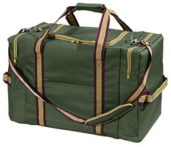 Derby Tack Carry Matching Duffle Bag - Hunter Green