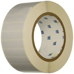 Brady THT-53-352-3 Tamper-Resistant Metallized Vinyl Thermal Transfer Printable Labels , Silver (3,000 Labels per Roll, 1 Roll per Package)