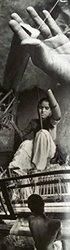 Gitika Goyal Home Cotton Khadi Silver Screen Printed 12x105 Runner Centre Cross Design, Pink