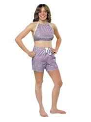 Dipsters Women's Bibb-Top With Shorts - Size: XXL