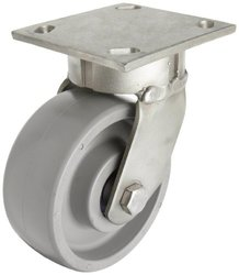 RWM Casters S65 Series Stainless Steel Ball Bearing Plate Caster