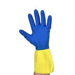 UltraSource 441225-M Neoprene/Latex Gloves, 30 mil, Medium