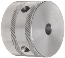 "Lovejoy 24498 Size LF2 Torsional Coupling Cylinder, Inch, 0.39"" Rough Stock Bore, 3.35"" Outside Diameter, 2.17"" Flange Diameter"