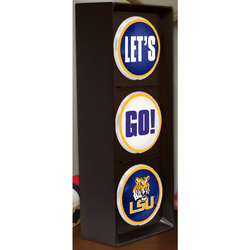 The Memory NCAA Louisiana State Let's Go Light - Size: 16""