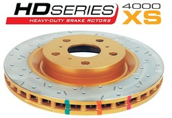 DBA DBA4425XS Cross Drilled & Slotted Front Vented Disc Brake Rotor
