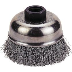 Firepower 1423-3158 Wire Cup Type Crimped Carbon Steel Wire Brush