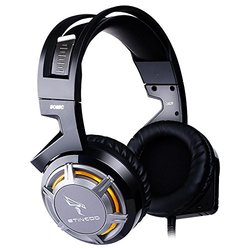 Somic Gaming Headphone with LED Light - Dark Gray