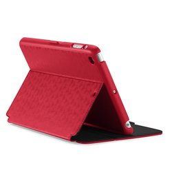 Speck Style Folio Case & Stand for iPad Mini 2/3/4 - Red/Black