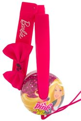 Sakar Barbie Kid Safe Headphones - Pink (19759)