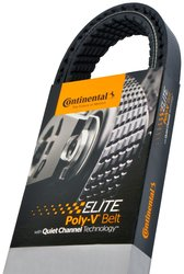 Continental Elite 4100710 Poly-V Serpentine Belt for Vehicle