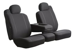 Fia Custom Fit Front Seat Cover Bucket Seats - Black