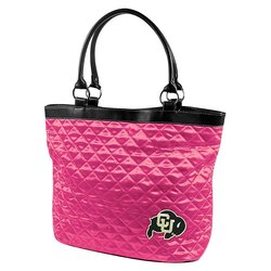 Little Earth Women's NCAA Colorado Quilted Tote - Pink - Size: One Size