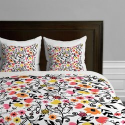 Rebekah Ginda Design Heatwave Duvet Cover, Twin/Twin XL