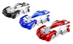 Shopperheads Wall Climbing Floor Racing RC Car Toy - Red