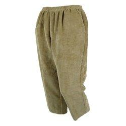 Petite Alfred Dunner Classics Pants -  Tan - Size: 10P Short Length