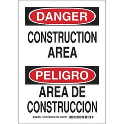Brady 125160, Danger Sign (Pack of 10 pcs)