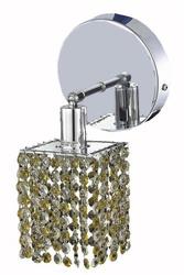 "Elegant Lighting Mini 6"" Wall Sconce with Chrome Finish"