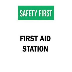Brady 41211, First Aid Sign (Pack of 10 pcs)