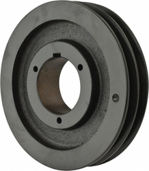 Browning 2TB80 Split Taper Sheave, Cast Iron, 2 Groove, A or B Belt, Uses Q1 Bushing