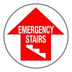 Brady 49068, Floor Safety Sign (Pack of 10 pcs)