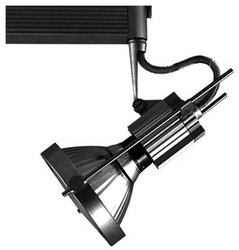 Jesco Lighting HMH901P38701B Contempo 901 Series Metal Halide Track Light Fixture, PAR38, 70 Watts, Black Finish