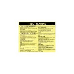 Brady 93744, Hazardous Material Label (Pack of 10 pcs)