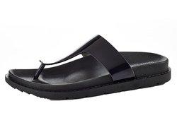 Henry Ferrera Women's Sleek Platform Comfort Sandal - Black - Size: 11