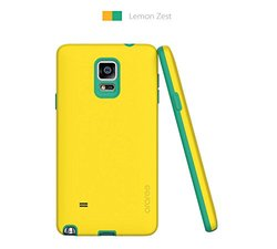 Araree AMY Case for Galaxy Note 4 - Yellow/Emerald (ARAY-SGN4YLEM)