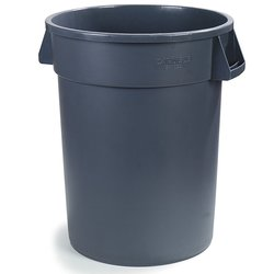 UltraSource 20 Gallon Heavy Duty Waste Container - Gray