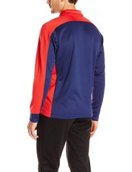 Speedo Men's Streamline Warm Up Jacket - Red/Navy - Size: X-Large