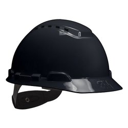 3M H-712V Adjustable Vented Hard Hat - Pack of 20 - Black