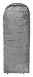 Trailside Sundowner 5 Hooded Rectangular Sleeping Bag - Gray