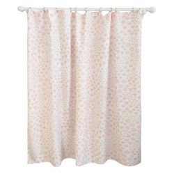 "Pillowfort 72"" x 72"" Floral Shower Curtain - Pink"