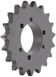 "Tsubaki 1"" Pitch Single Strand 30-Teeth Roller Chain Sprocket"