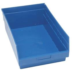 Quantum Store-Max Shelf Bin - Pack of 8 - Blue (QSB810BL)