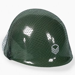Fun Express Child Costume Plastic Army Helmet - 1 dz
