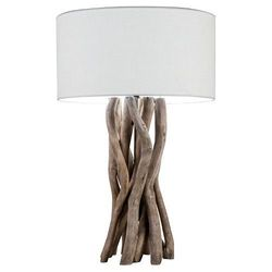 Threshold Driftwood Portable Table Lamp - Natural