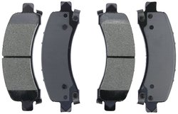 Axxis Deluxe Advanced Premium Ceramic Brake Pad Set (45-0974AD)