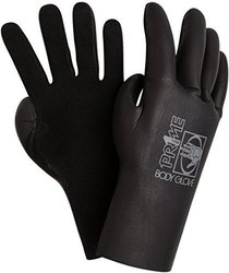 Body Glove Men's 3mm Prime 5-Finger Neoprene Wetsuit Gloves - Black - Sz:L