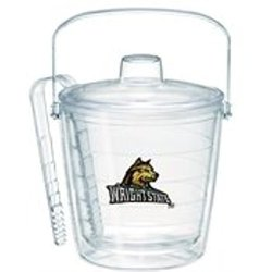 Tervis Wright State University Emblem Individually Boxed Ice Bucket, 87 oz, Clear