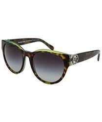 Michael Kors Women's Sunglasses: Tortoise Green Frame-Grey Gradient Lens